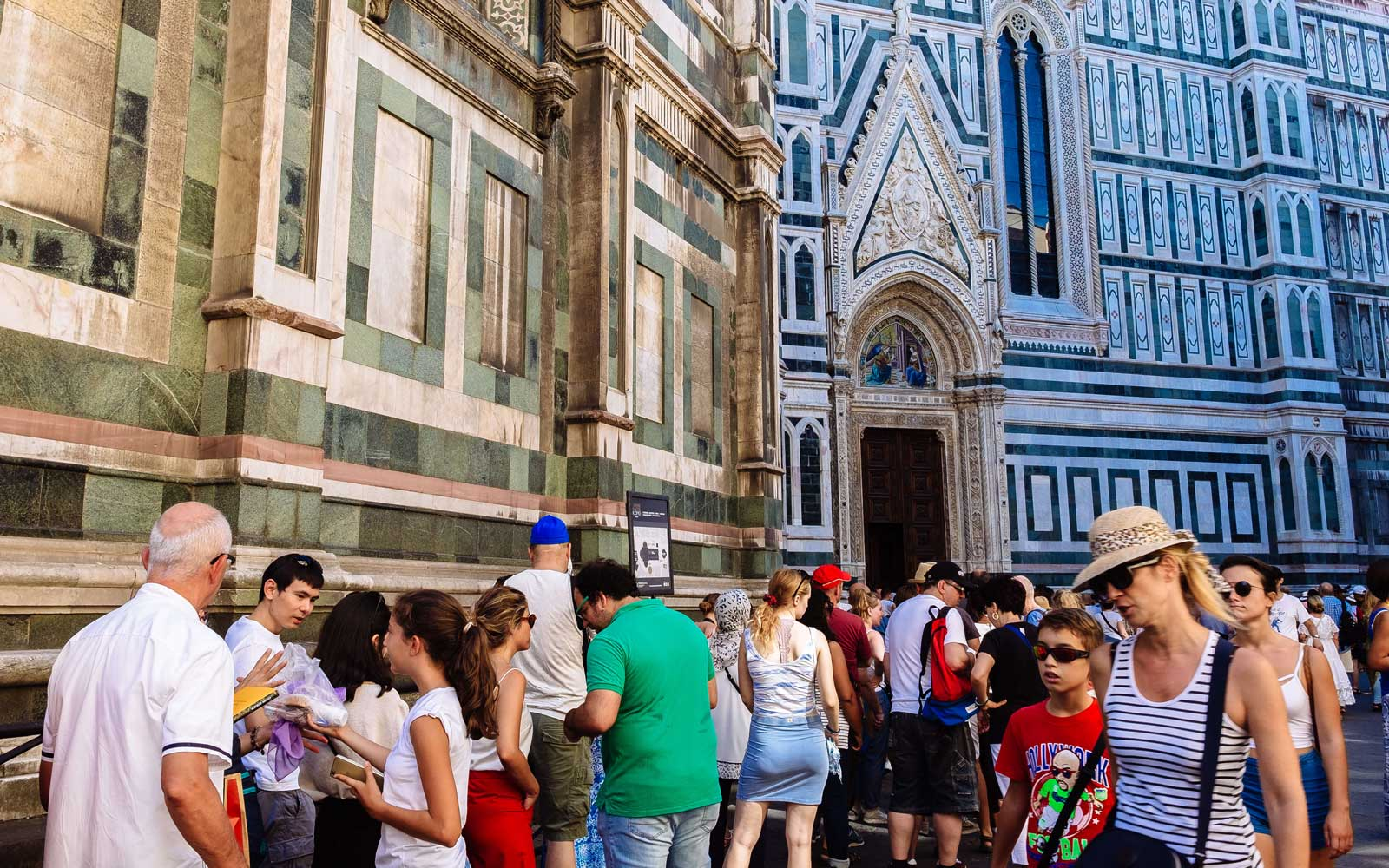 Florence, Italy tourists