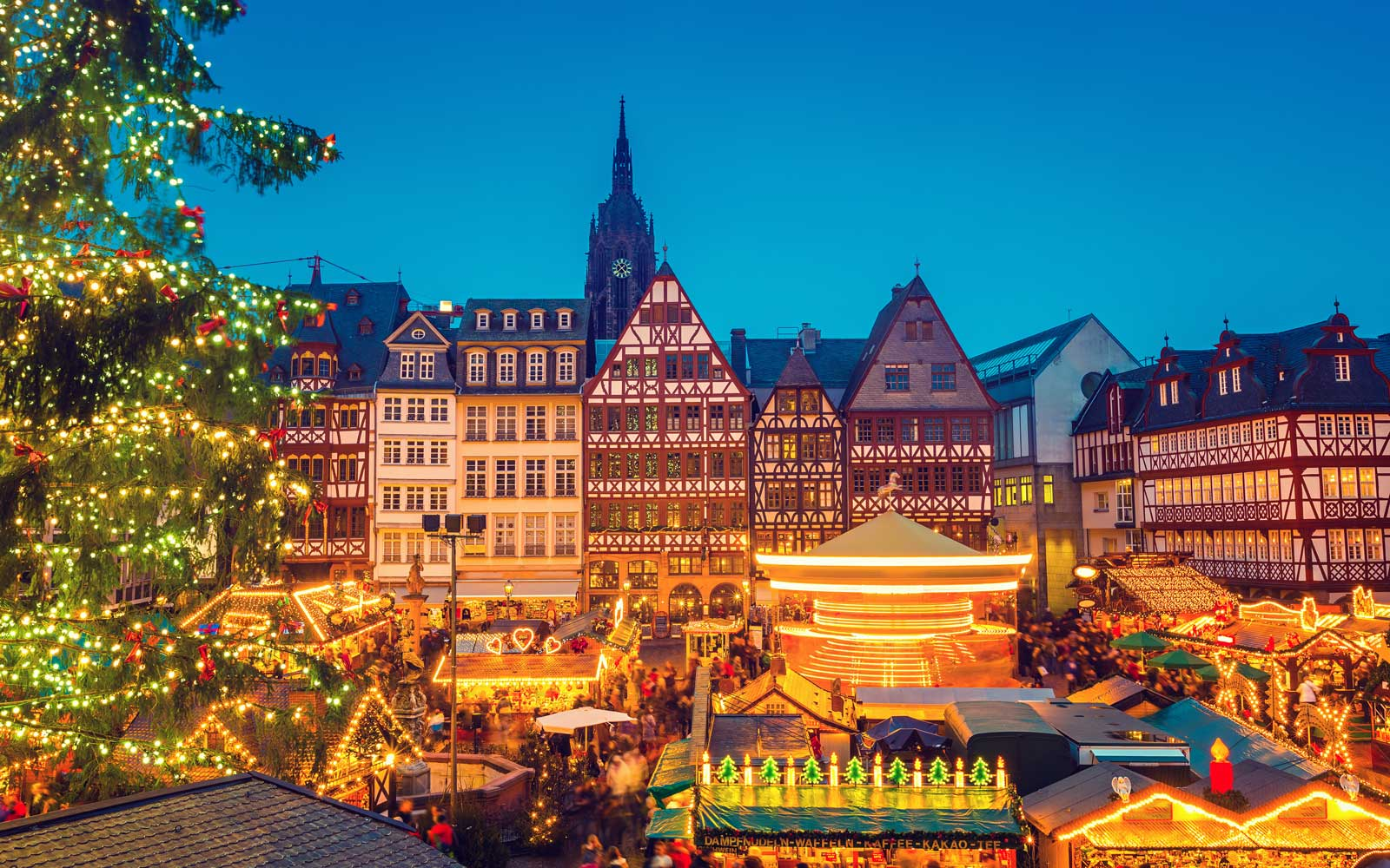 Head to Europe's famed Christmas markets starting at under $350 round-trip this year.