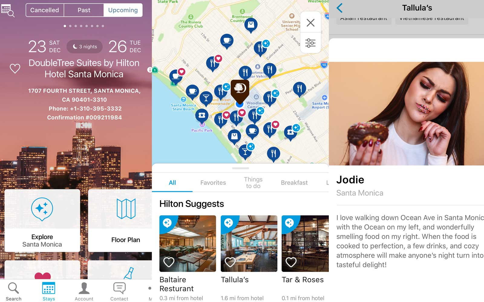 The new explore feature on the Hilton Honors app will let you get recommendations from local experts during your stay.