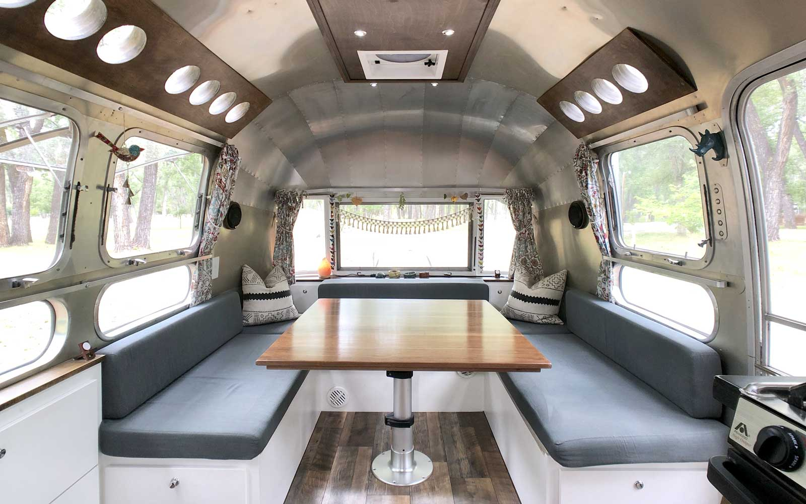 Longnecker family lives in an Airstream