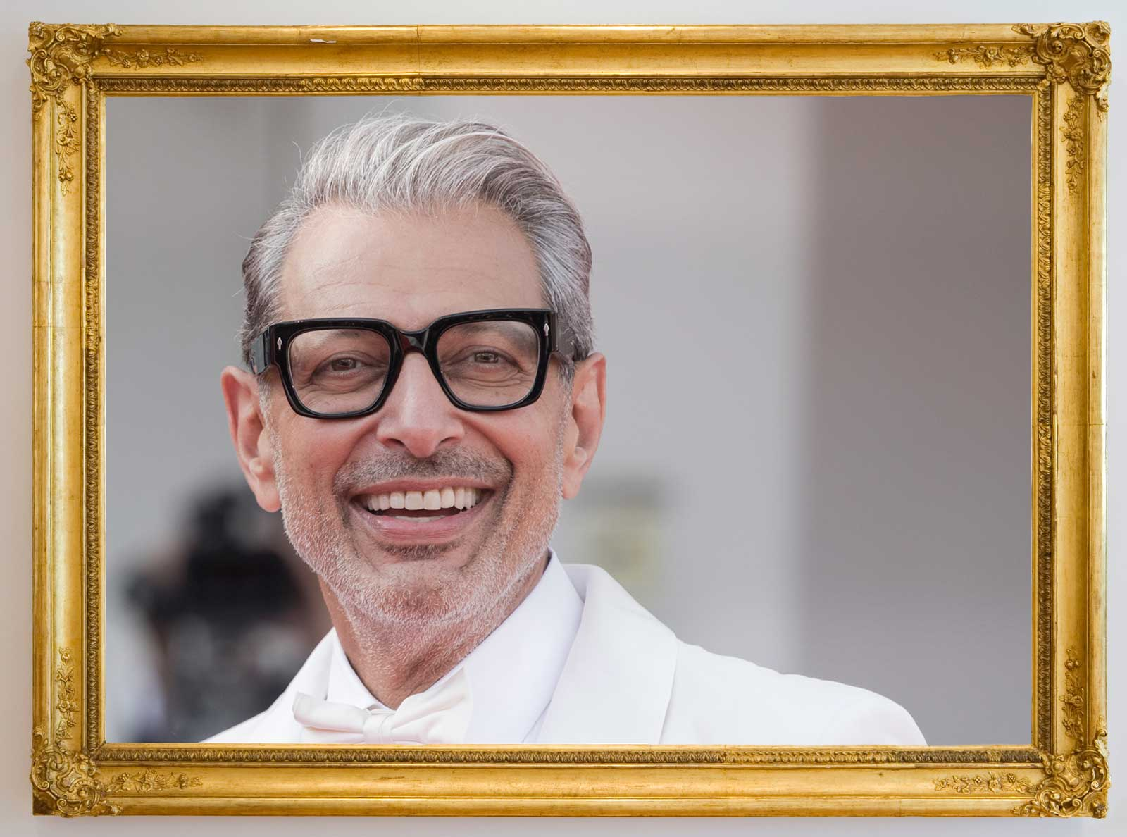 This Thrift Shop Put Photos of Jeff Goldblum in Every Single Picture Frame