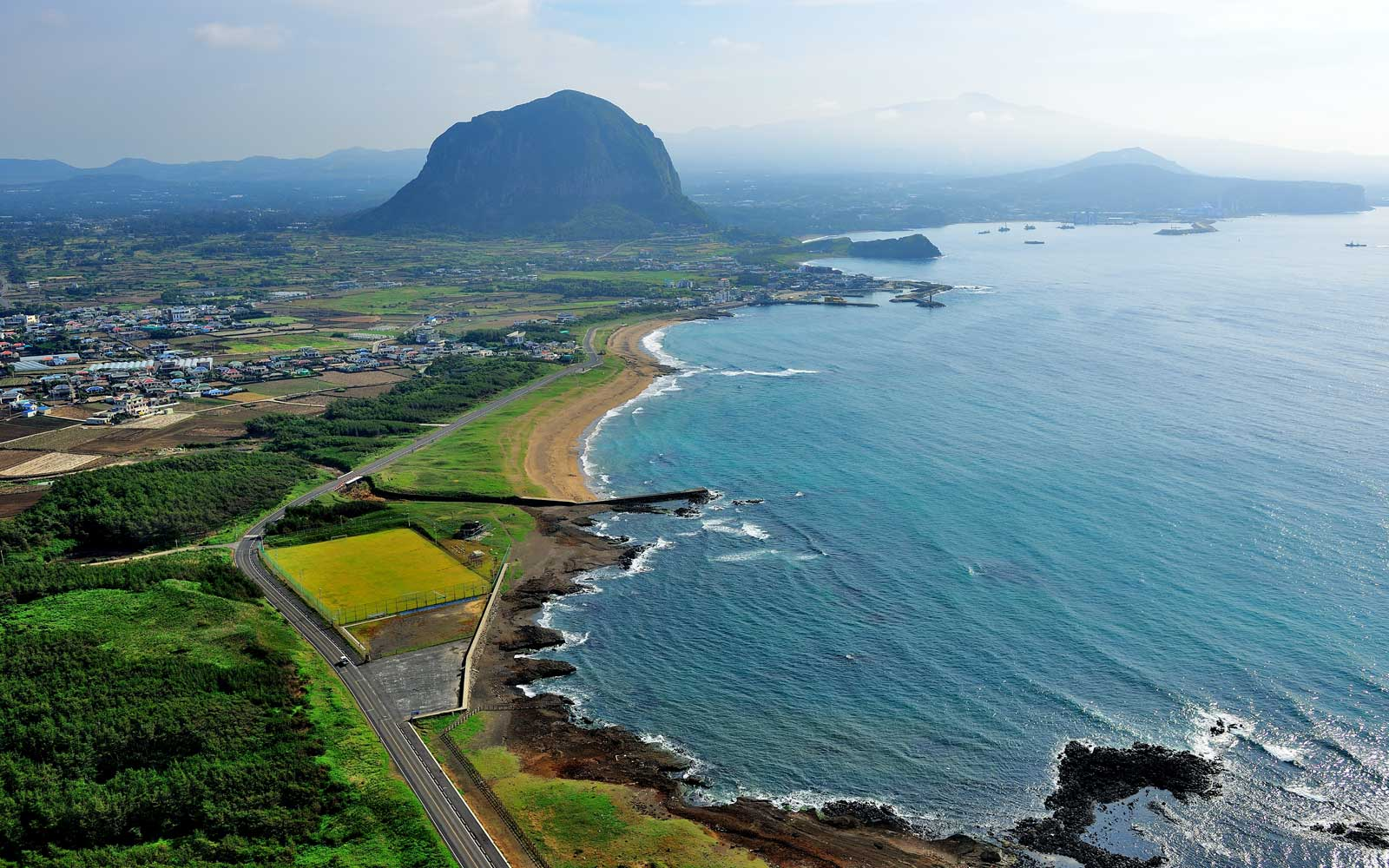 The route from Seoul to Korea's Jeju island is the busiest in the world.