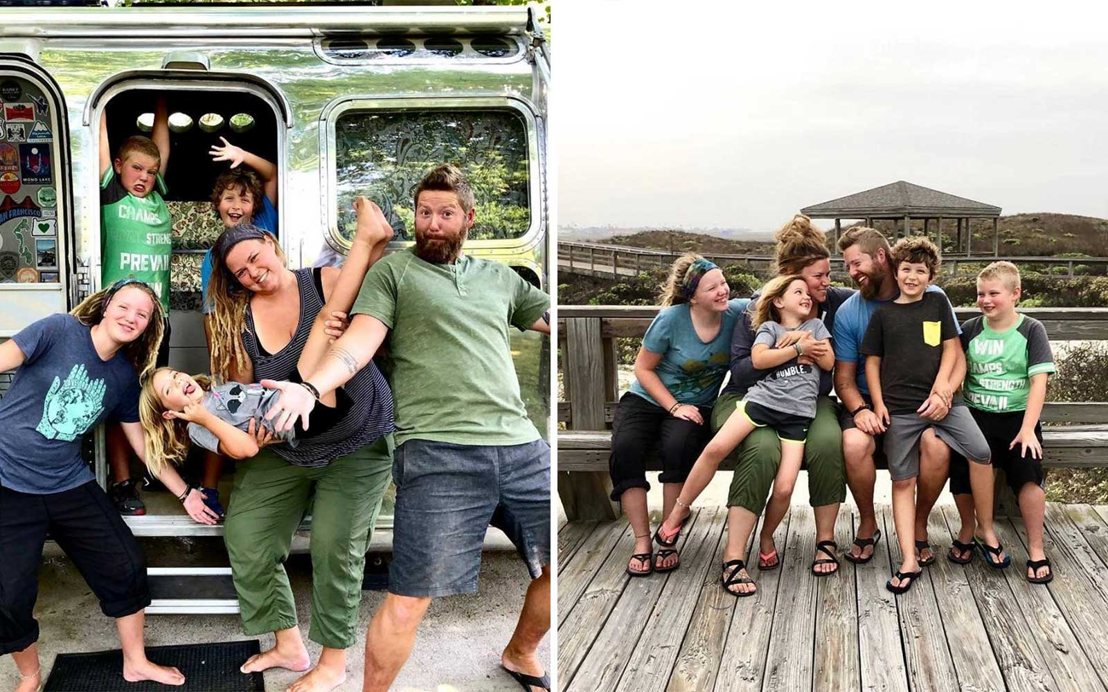 This Family of 6 Sold Their House to Live Life on the Road in a Tricked-out Airstream