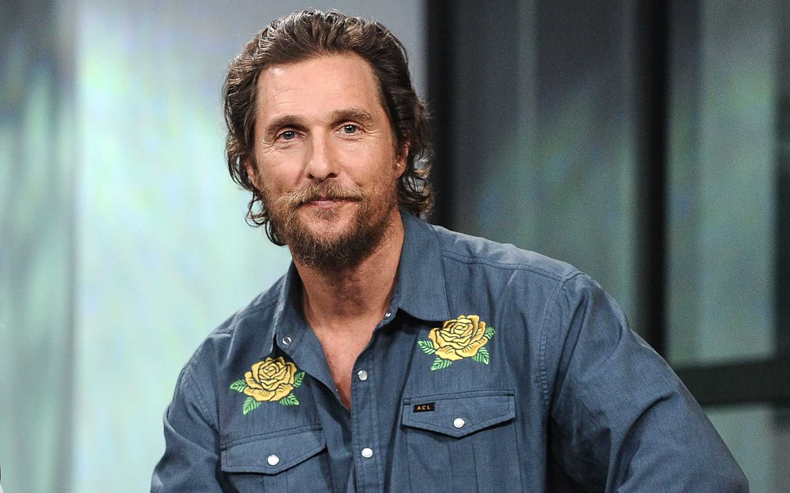 Matthew McConaughey Spent Two Weeks on This Greek Island and Loved It so Much He Decided to Stay One More