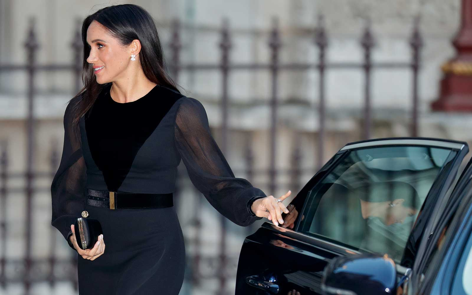 Meghan Markle Closed Her Own Car Door and People Can't Handle It