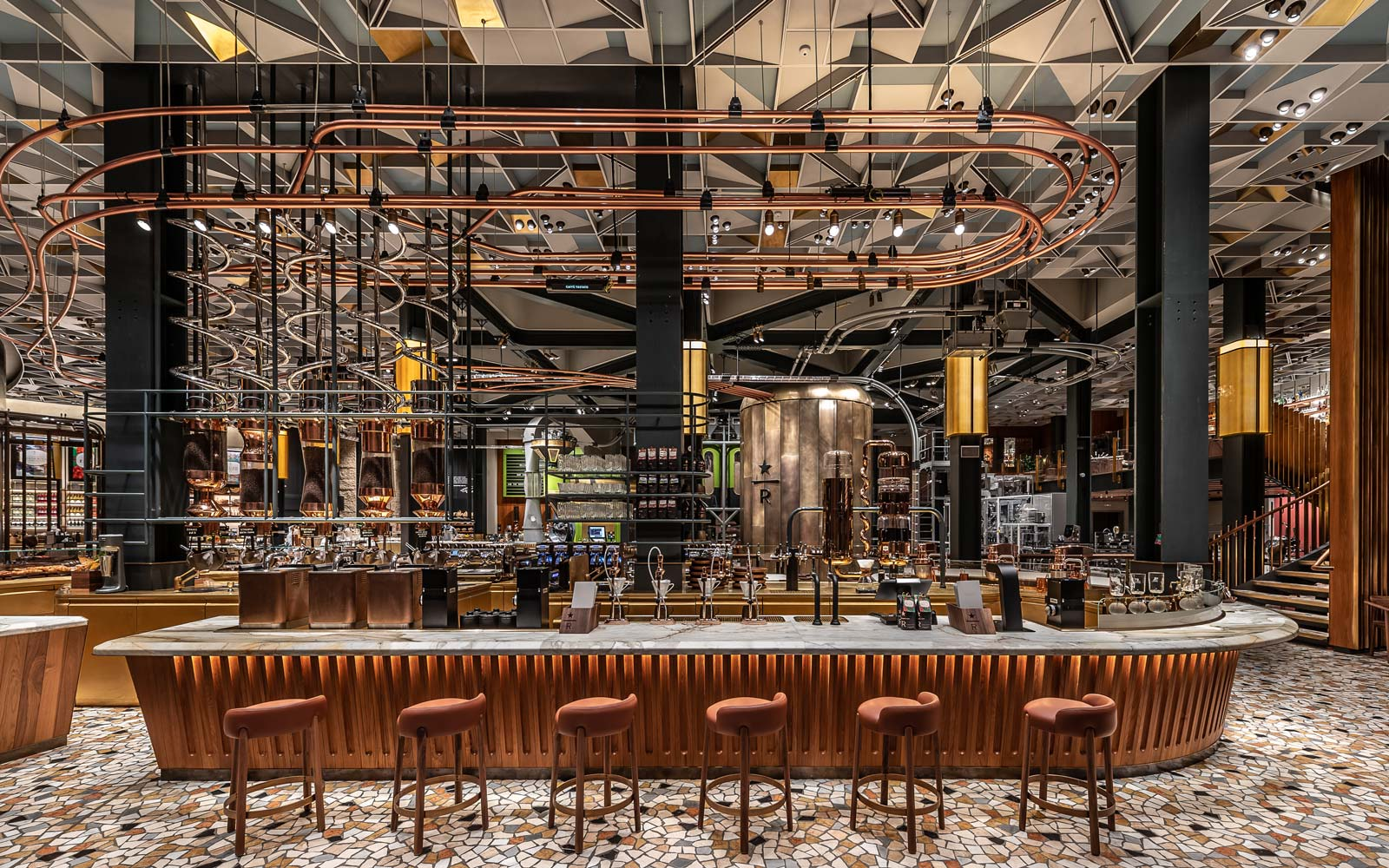Starbucks' First Roastery in Italy Is What Coffee Dreams Are Made Of