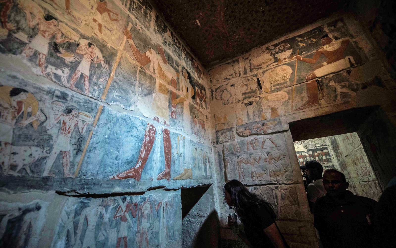 Researchers Found This Colorful 4,000-year-old Tomb Nearly 80 Years Ago — Now It's Finally Open to the Public