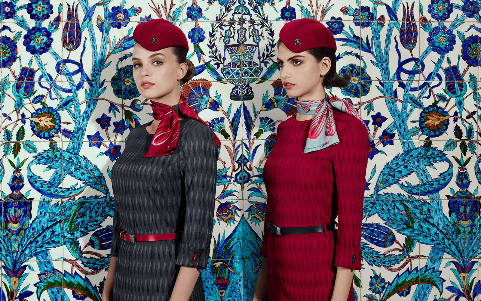 Turkish Airlines' New Uniforms Might Just Make It the Most Fashionable Airline