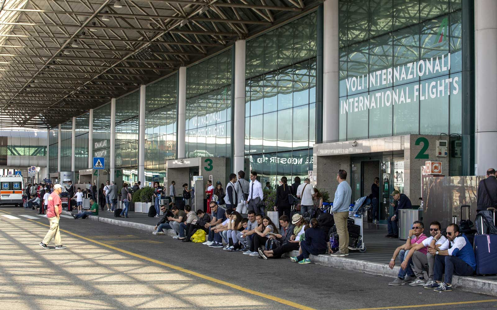 Police at Rome Airport Blow Up Bag That Turns Out to Be Filled With Coconuts
