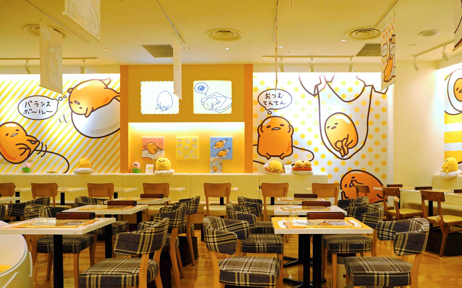 Gudetama Cafe in Osaka