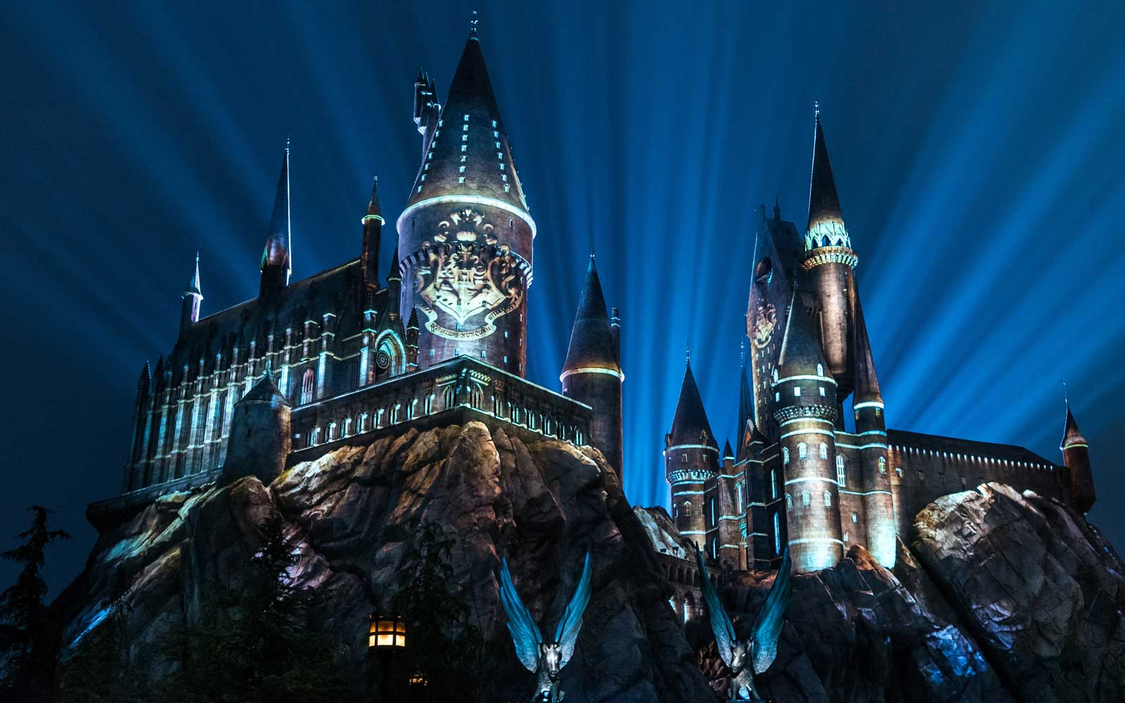 Get a Sneak Peek at the New Roller Coaster at the Wizarding World of Harry Potter