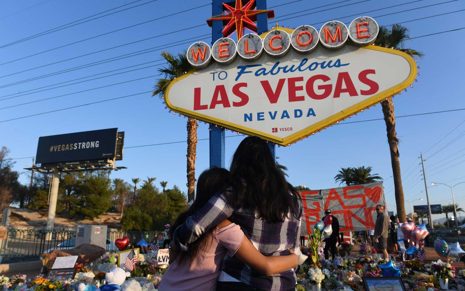 The Las Vegas Strip Will Go Dark Tonight to Honor the Victims of Last Year's Mass Shooting
