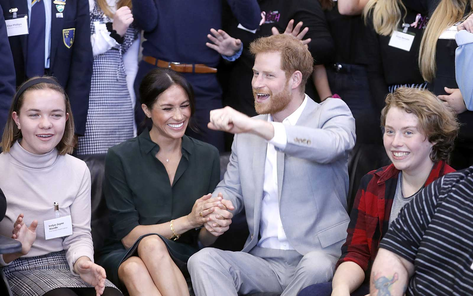 Meghan Markle and Prince Harry Just Showed They're Definitely Still in the Honeymoon Phase