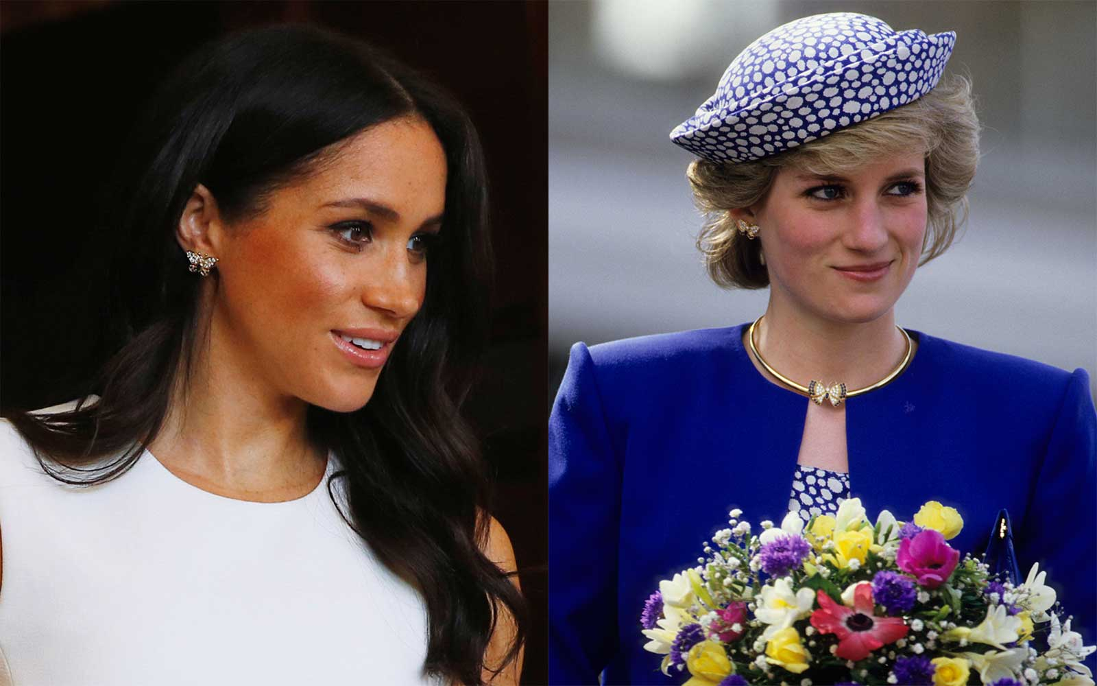 How Meghan Markle Is Paying Tribute to Princess Diana on Her First Royal Trip (Video)