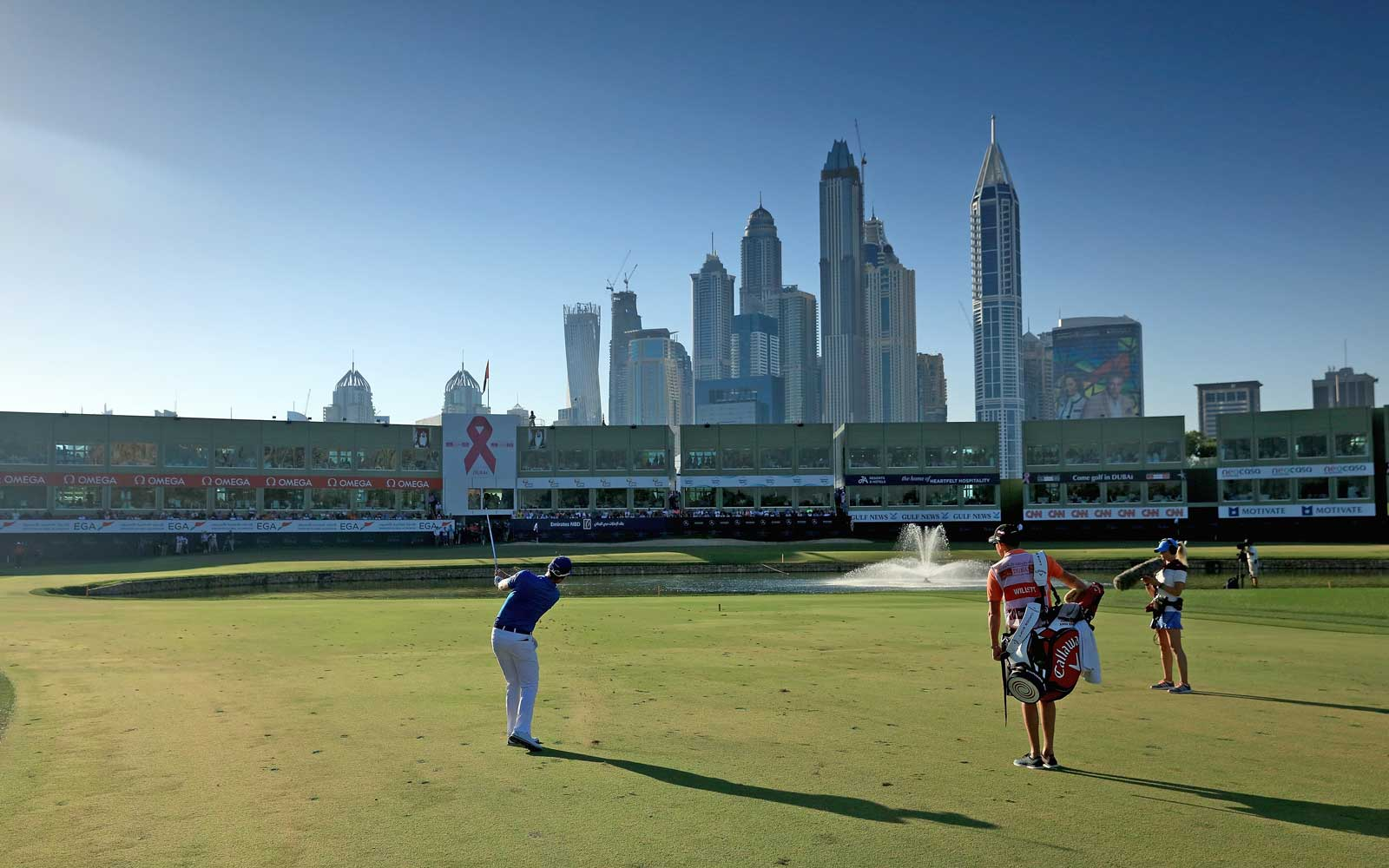 Omega Dubai Desert Classic at the Emirates Golf Club