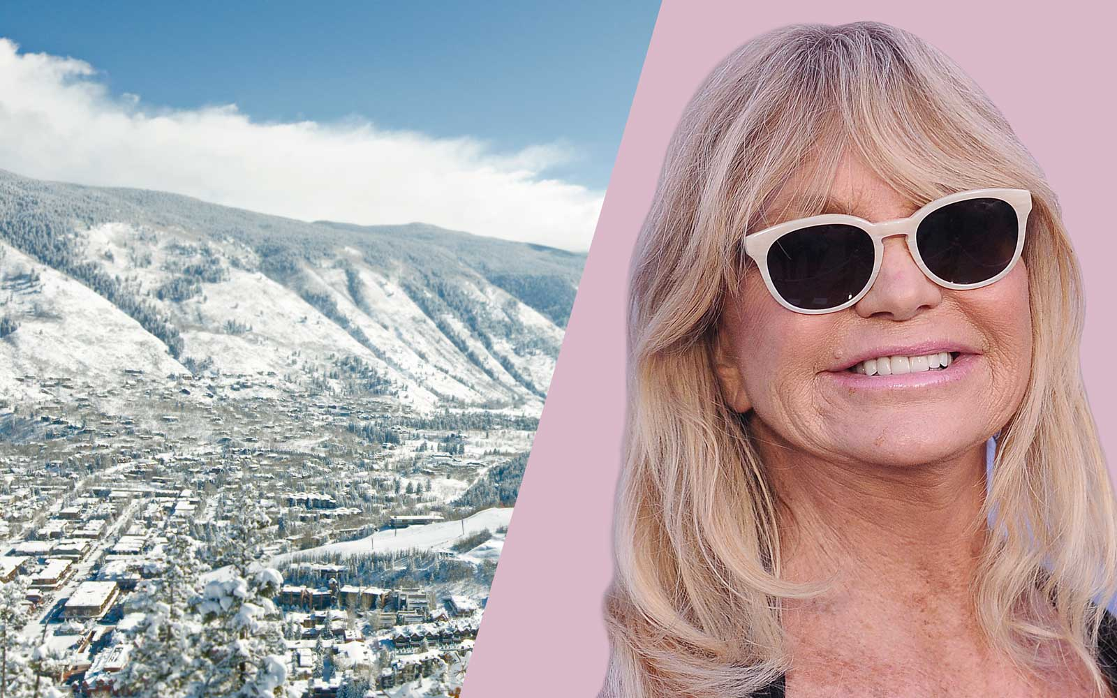 Goldie Hawn Ski Trip Destination, Colorado