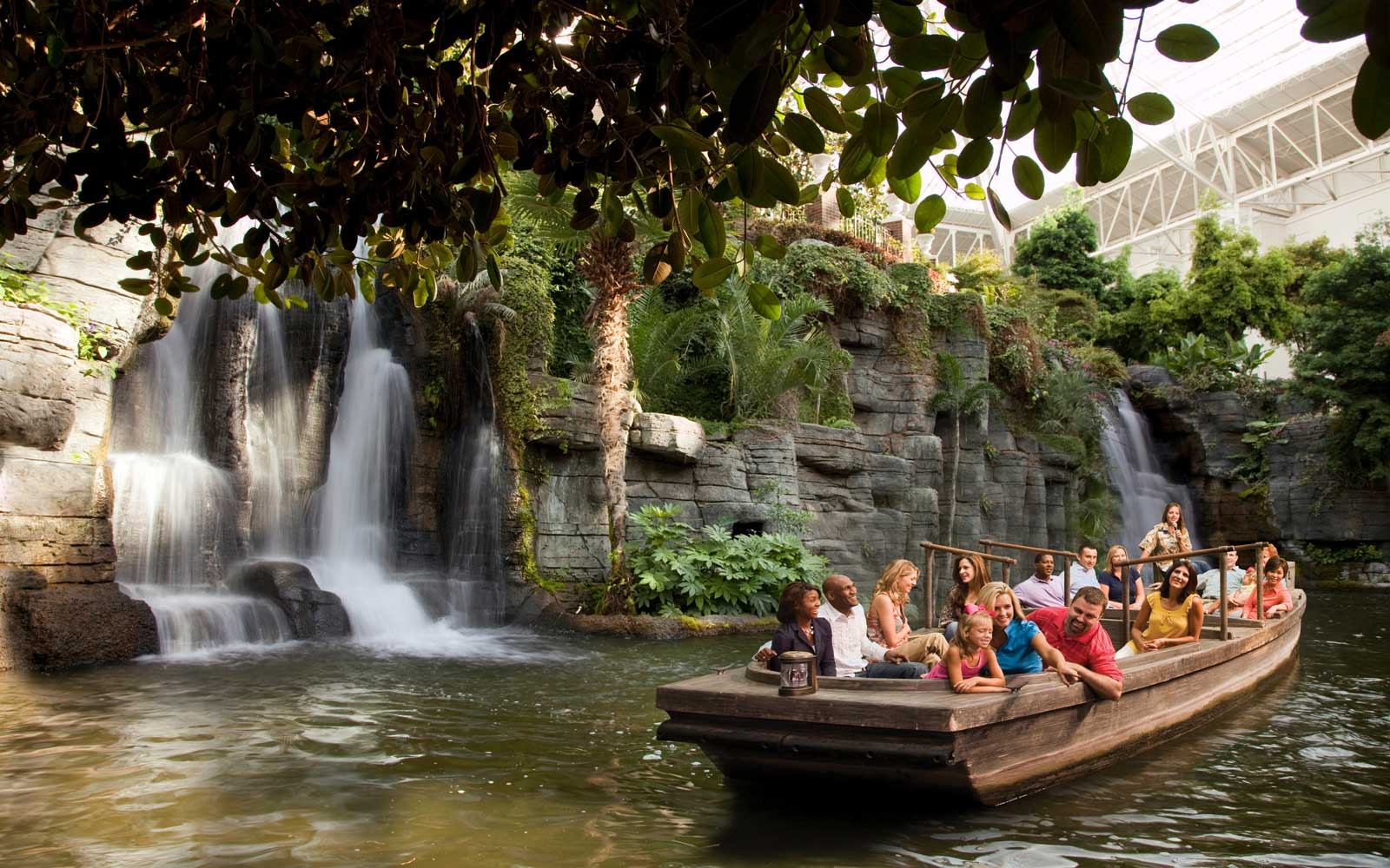 Delta boat ride at the Gaylord Opryland resort
