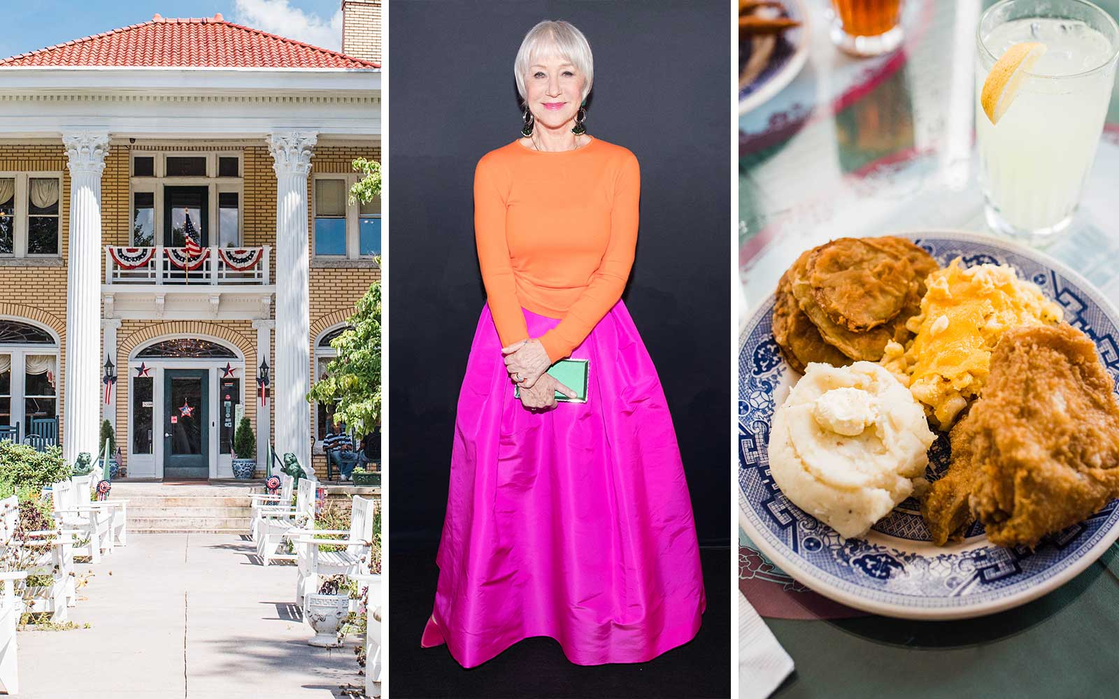 How to Take a Southern Food Road Trip Like Helen Mirren