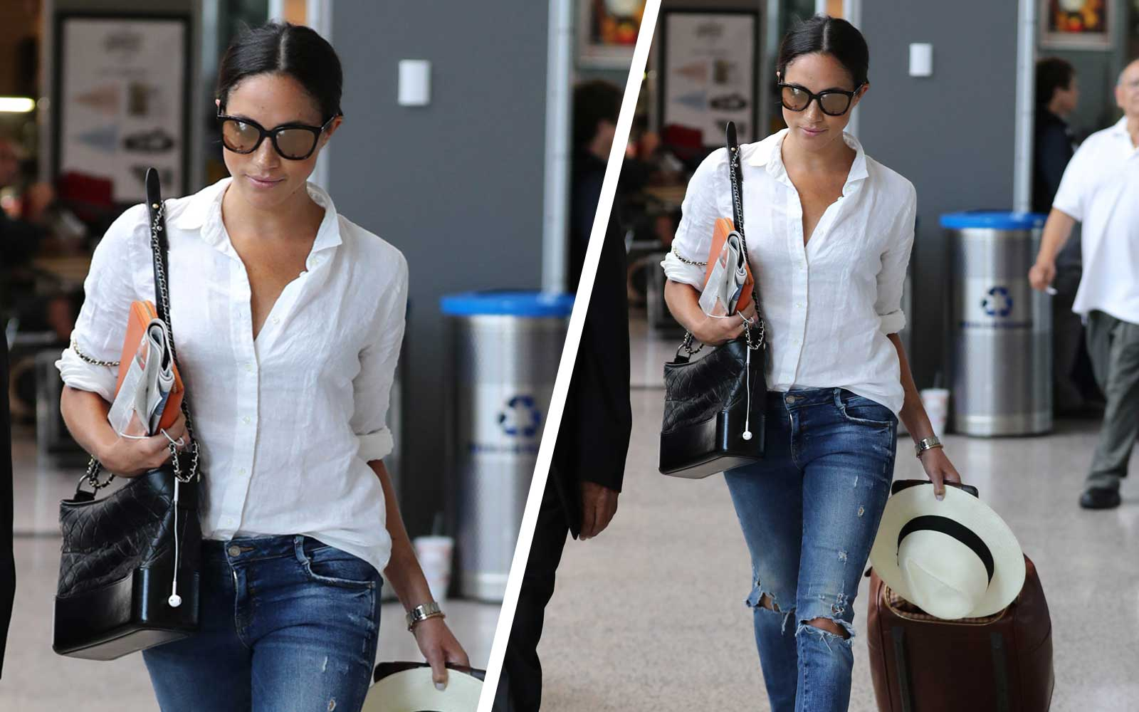 The One Accessory You Need to Copy Meghan Markle's Effortless Travel Style