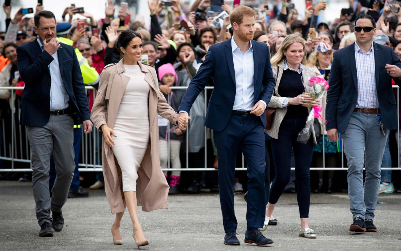 Meghan Markle and Prince Harry Continue Royal Tour After 6.2 Magnitude Earthquake Hits New Zealand