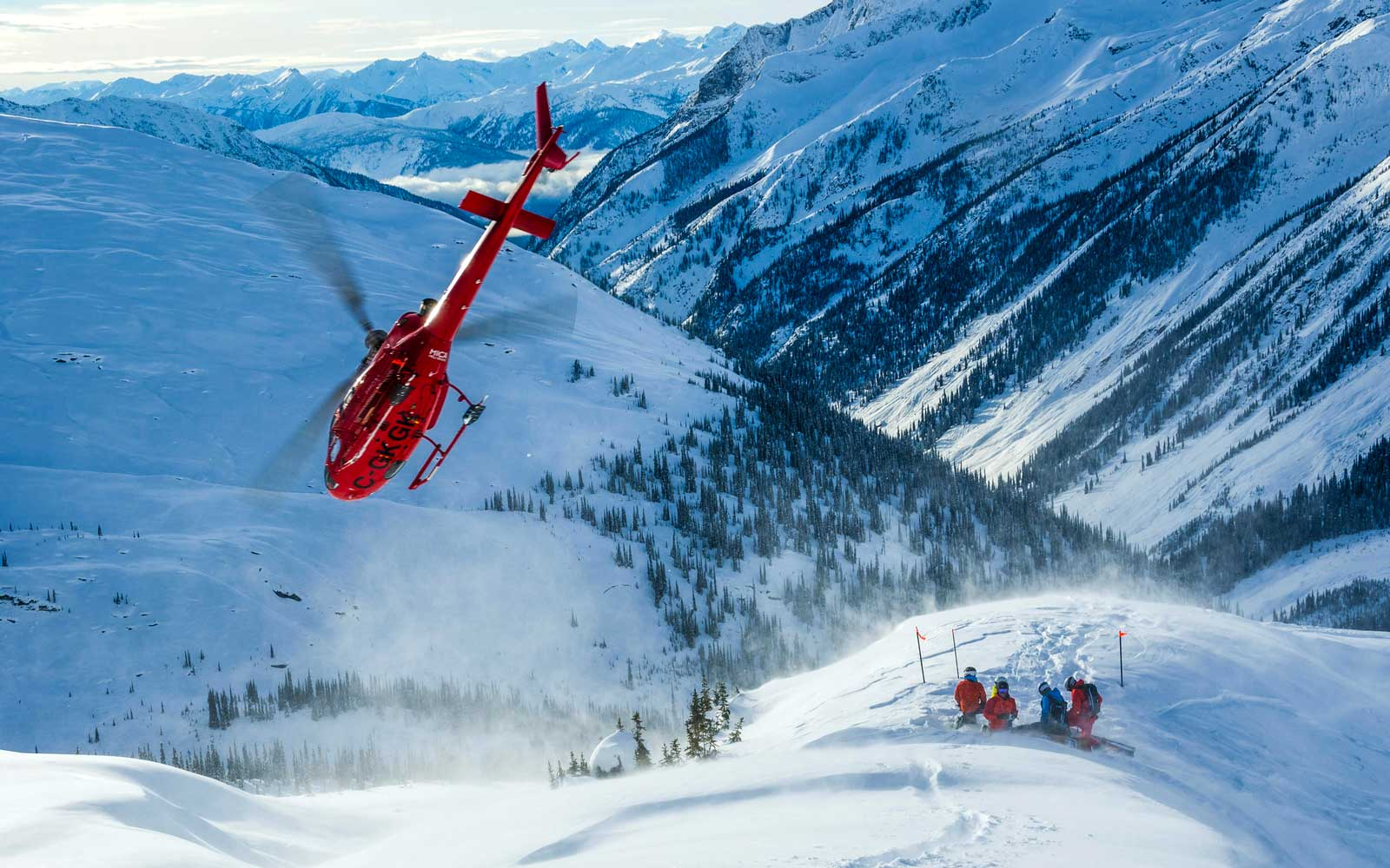 The Best Cat-skiing and Heli-skiing in Canada's British Columbia