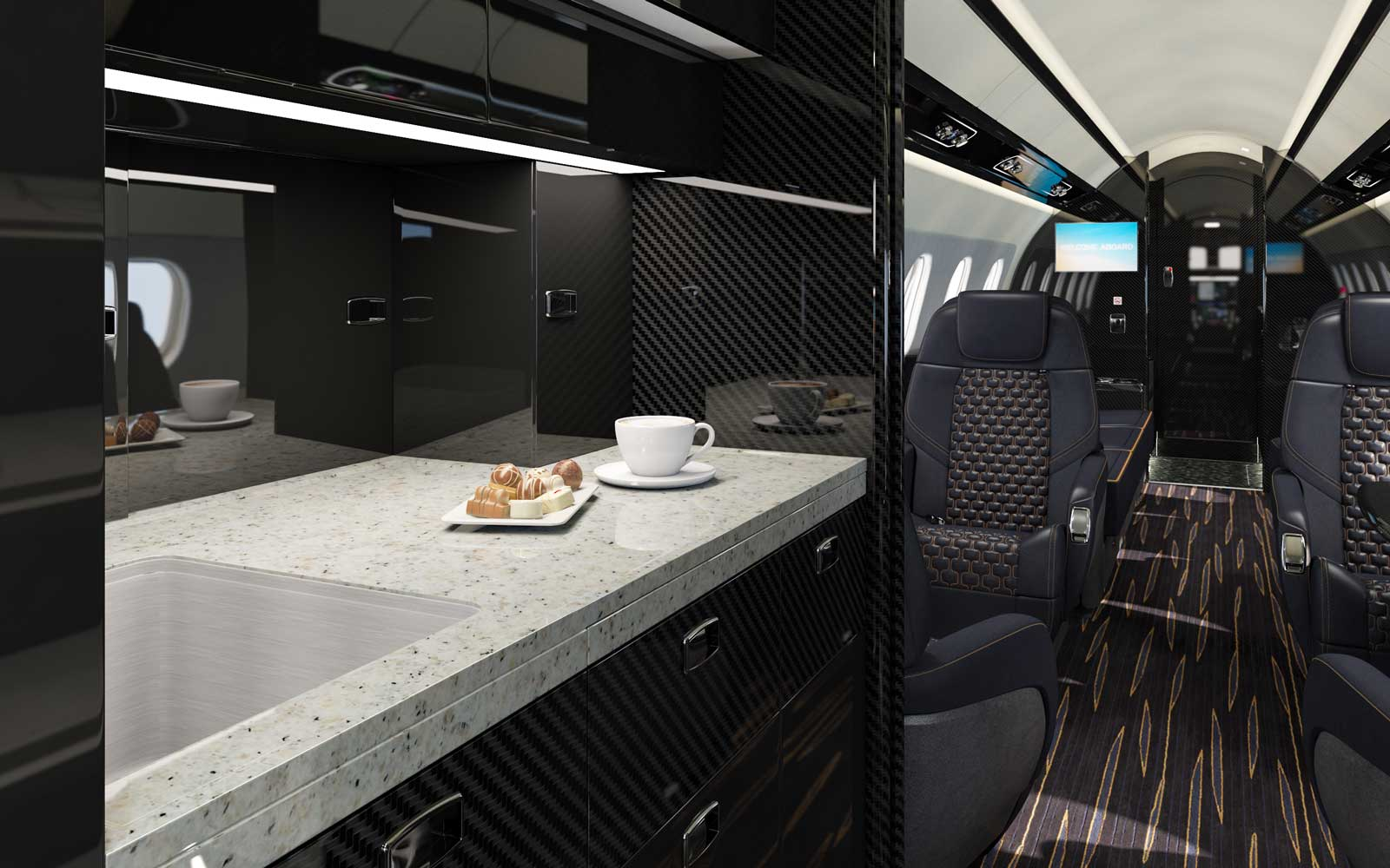 Embraer Galley