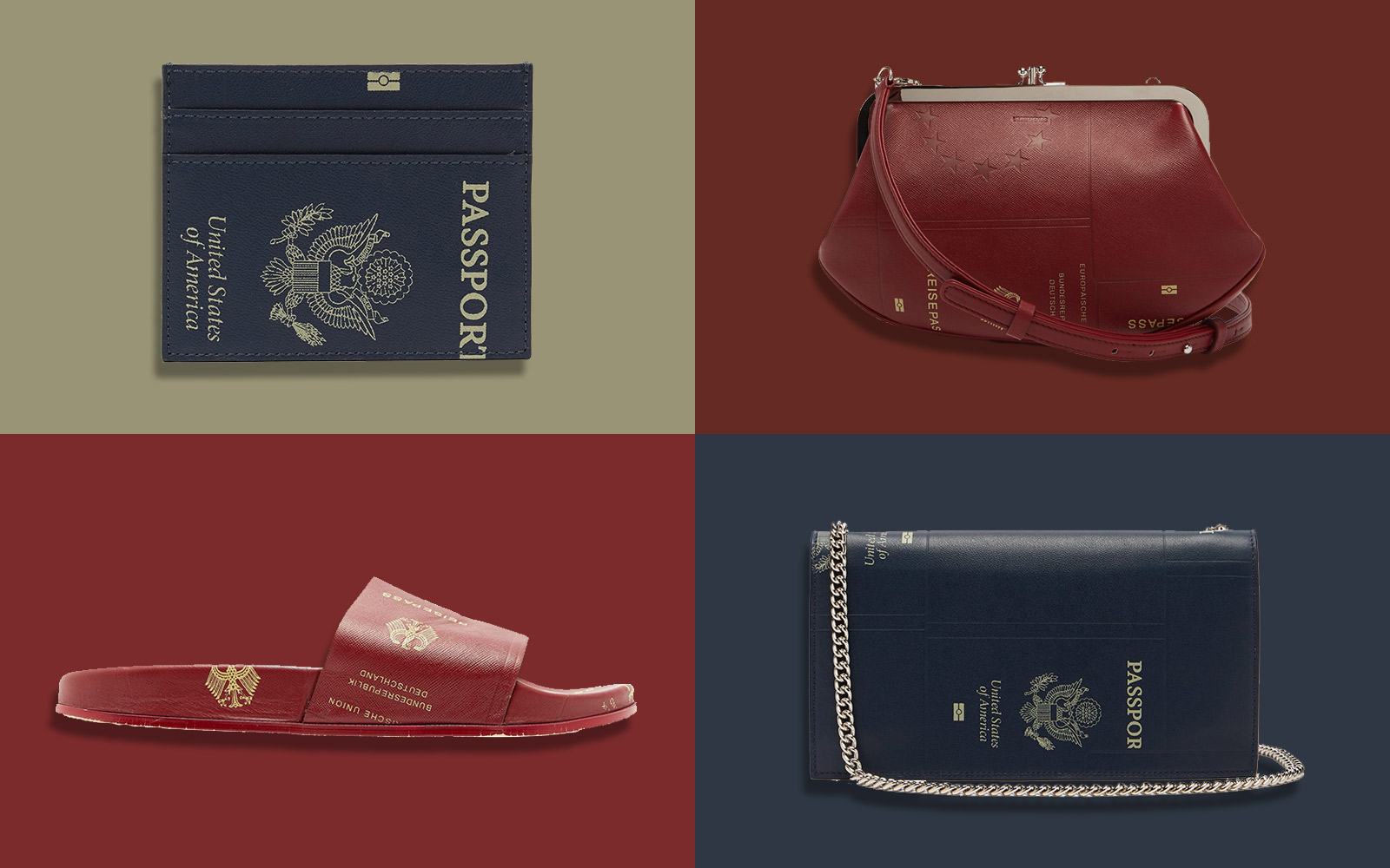 These Shoes and Bags Are Made With 'Passport' Leather and Yes, We're Obsessed