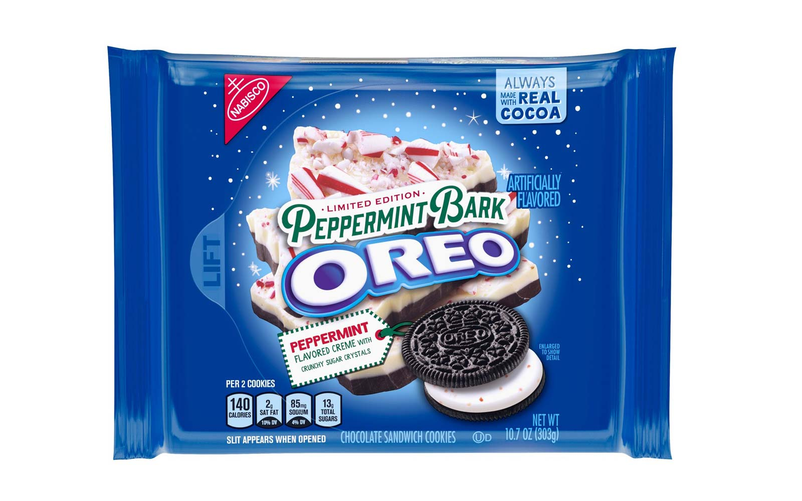 Oreo's New Peppermint Bark Flavor Will Get You Into the Holiday Spirit