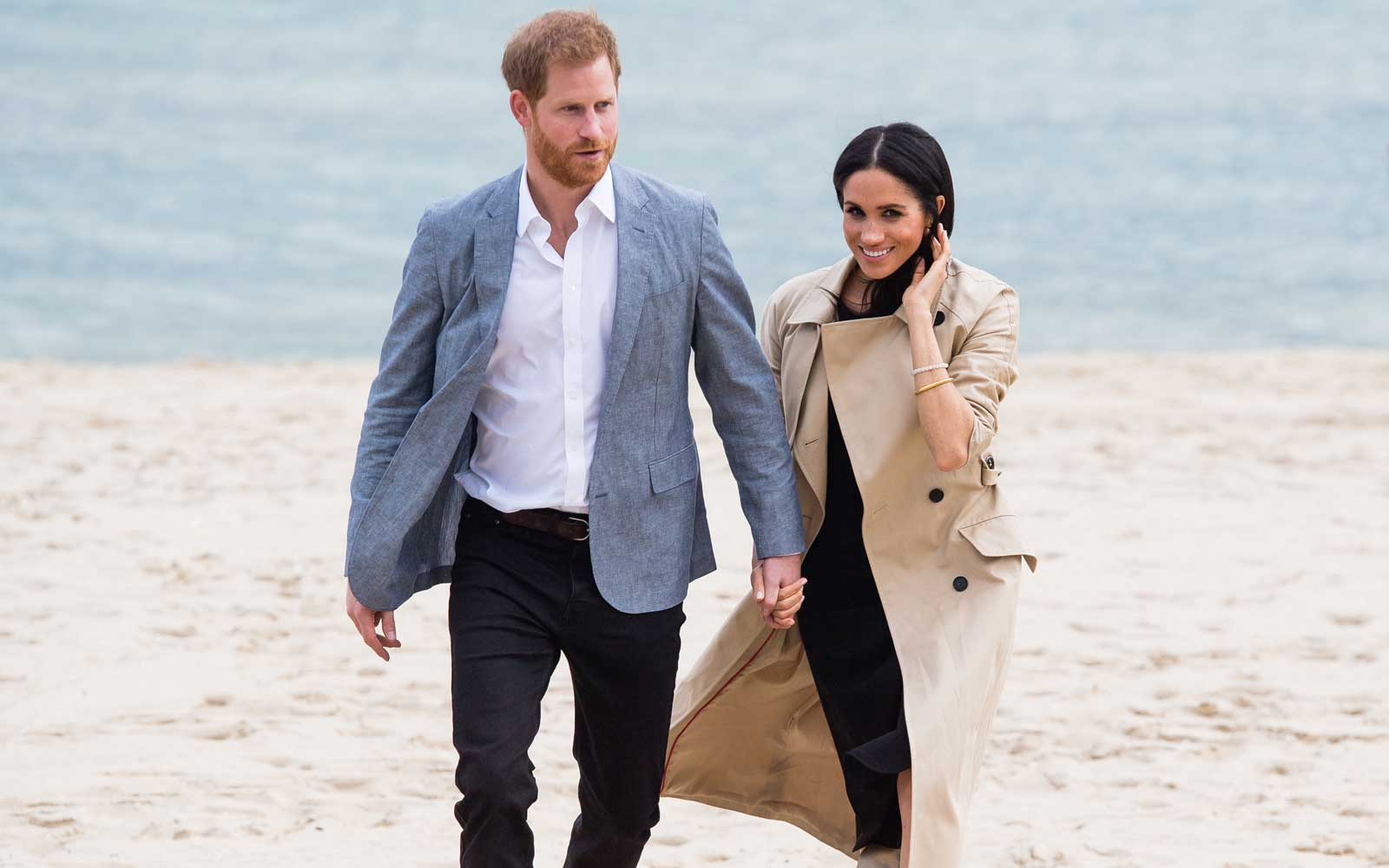 Prince Harry and Duchess Meghan of Sussex in Australia