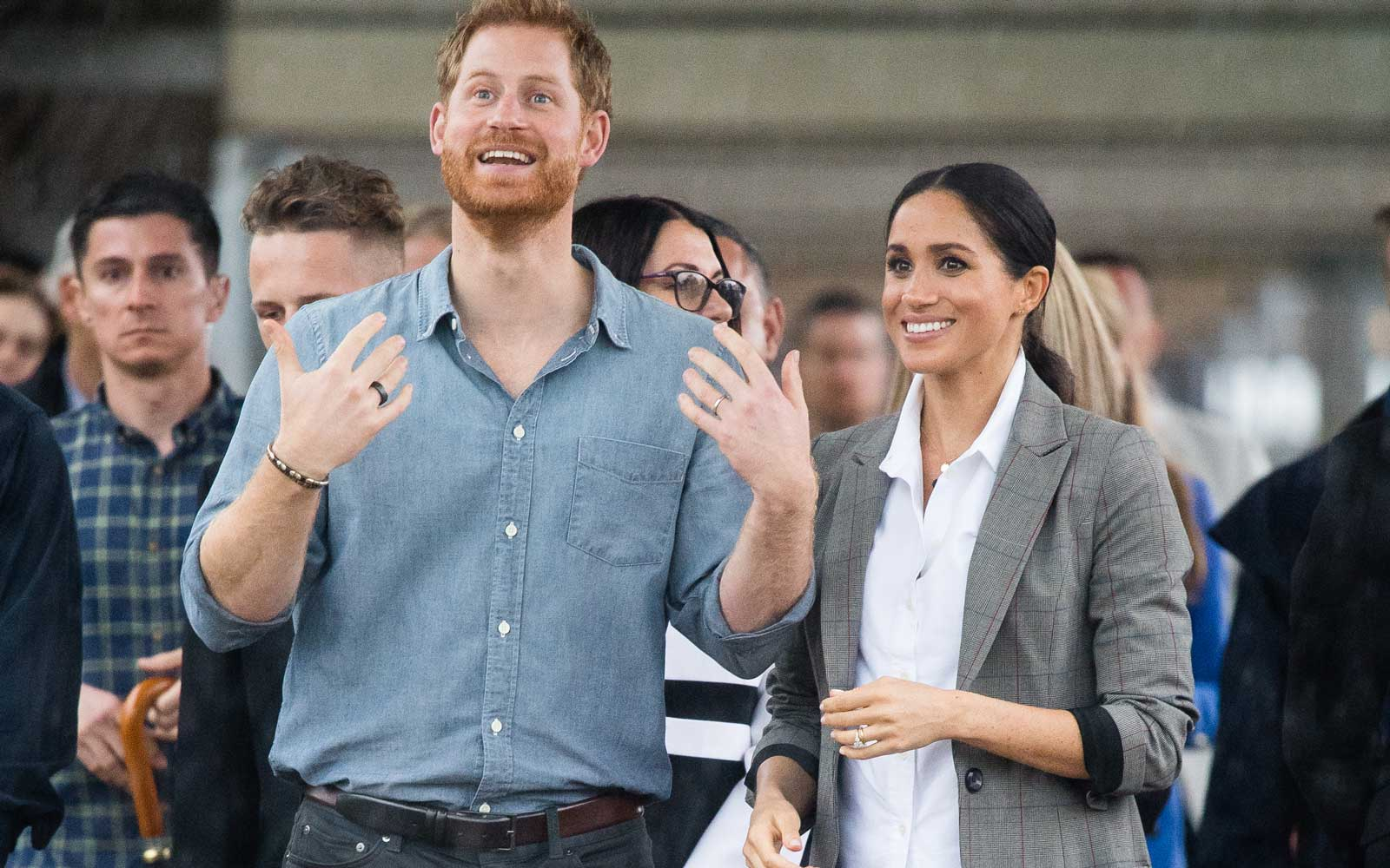 Prince Harry Opened Up for the First Time About His and Meghan Markle's Upcoming Baby