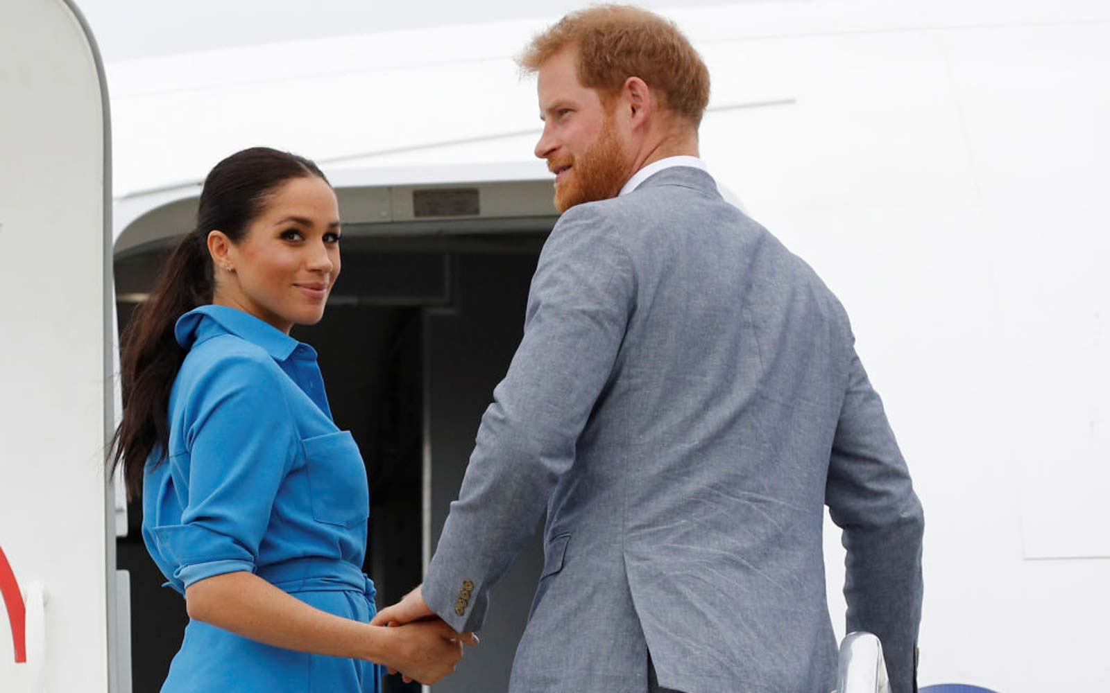 Prince Harry and Meghan Markle's Plane Aborted Its Landing Seconds Before Reaching Sydney