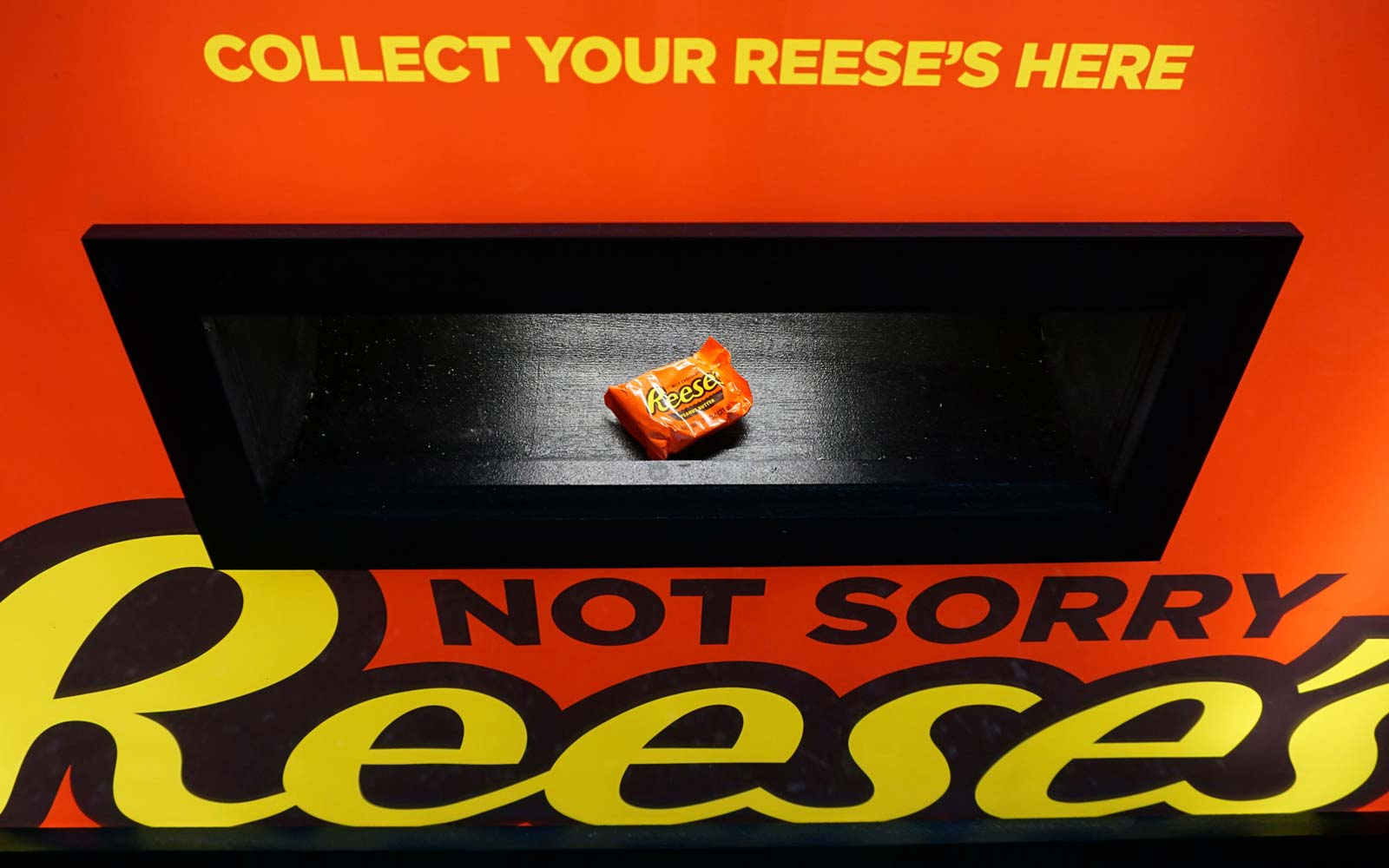 This Vending Machine Will Let You Trade Your Unwanted Halloween Candy for Reese's (Video)
