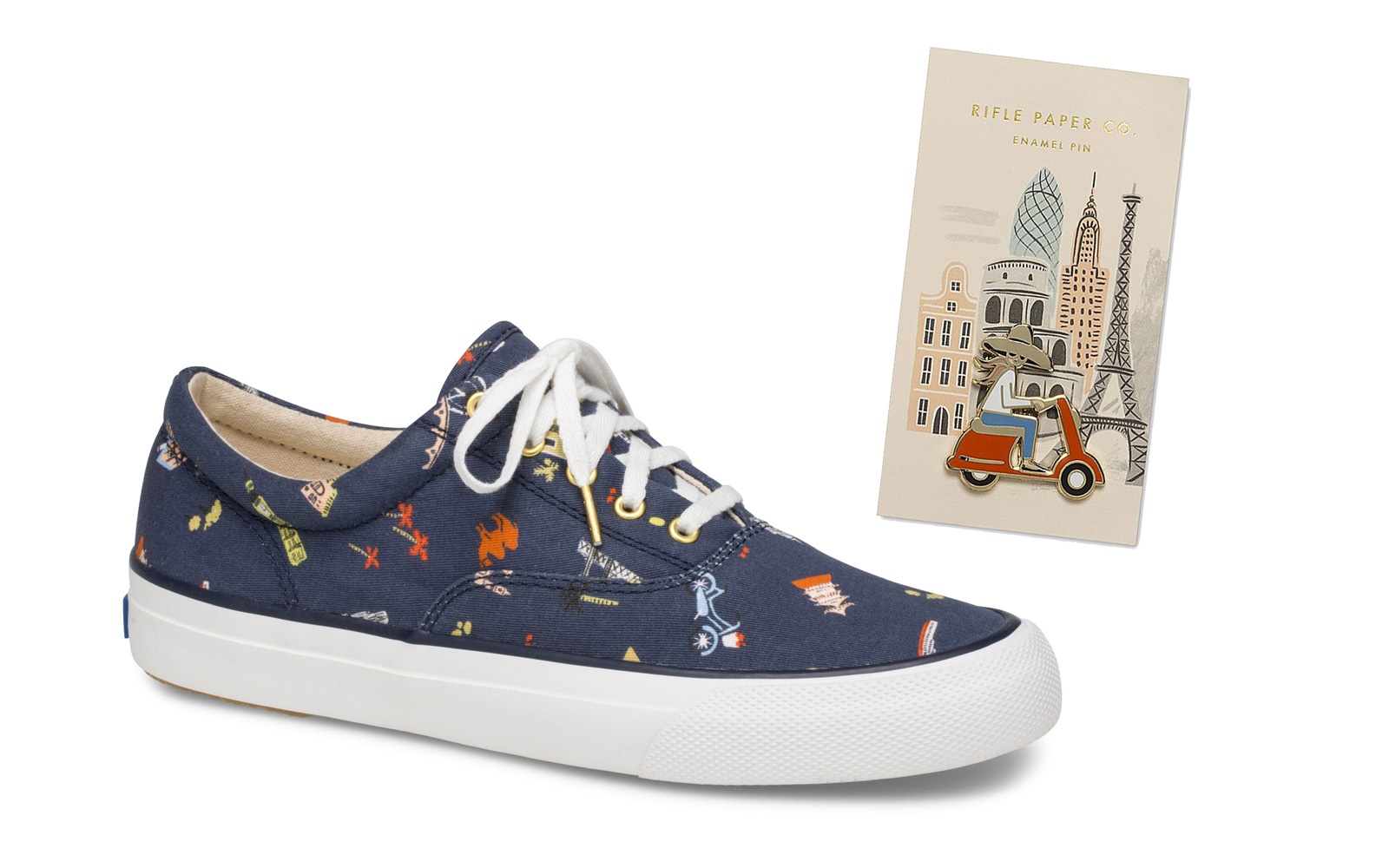 keds travel print sneakers