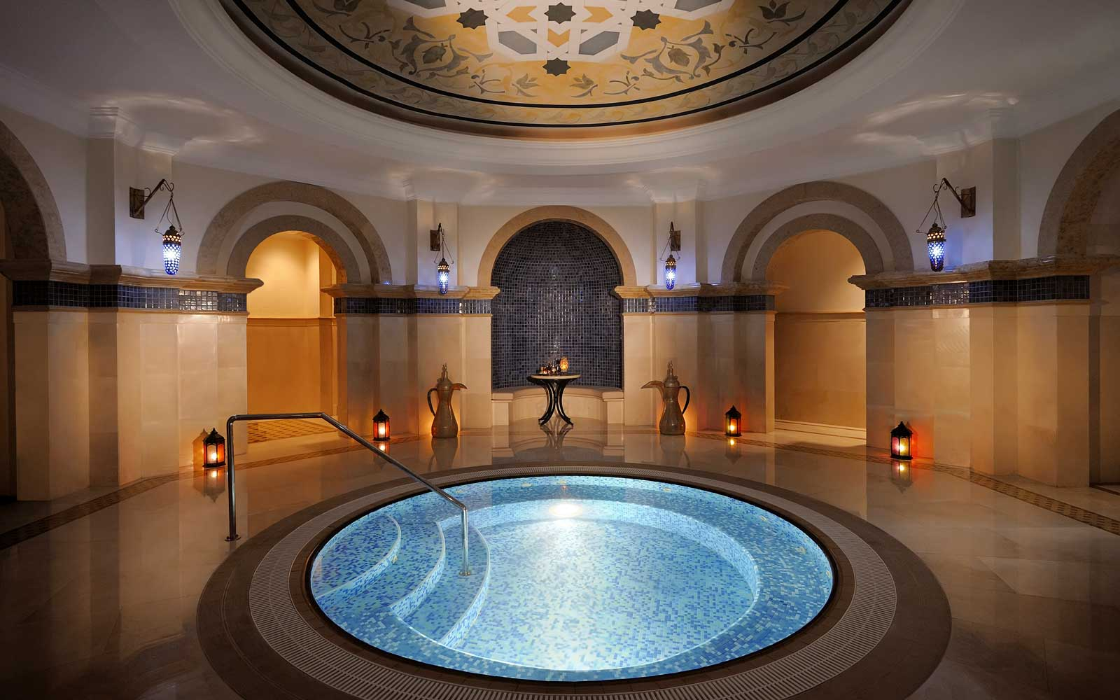 Hammam at the One & Only Royal Mirage resort, in Dubai