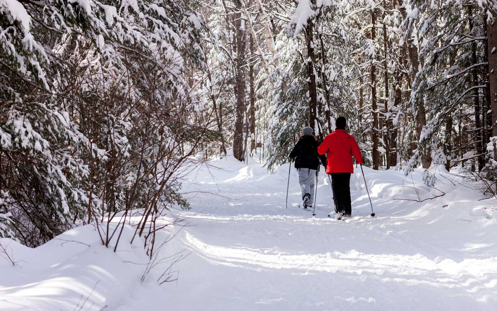You Can Ice-skate Along a Fire-lit Trail in Canada This Winter