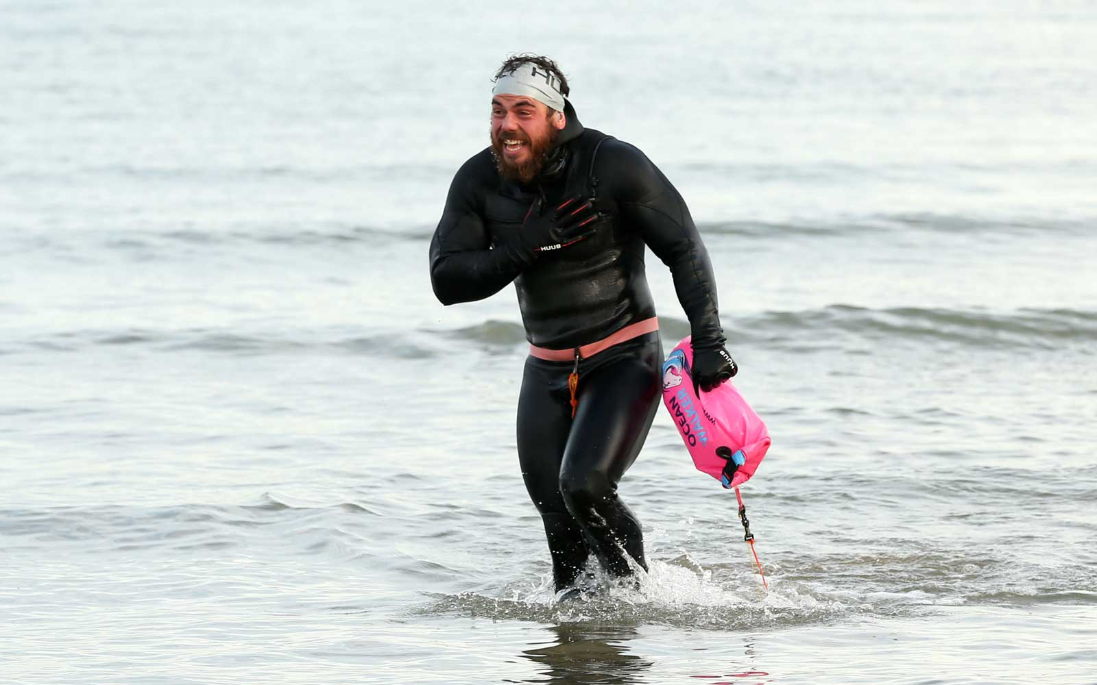 33-year-old Becomes First Man to Swim the Entire Coast of Great Britain