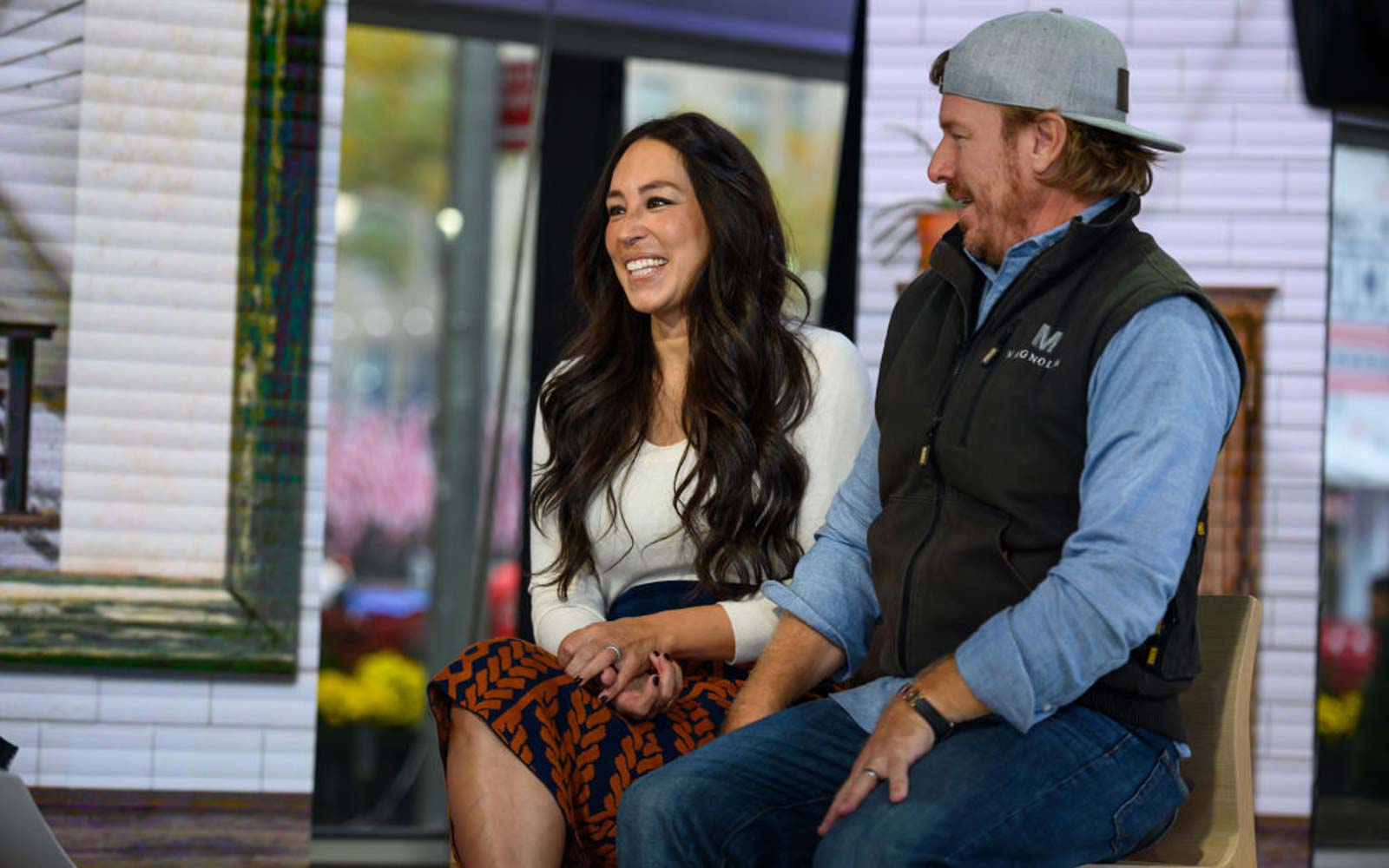 Chip and Joanna Gaines on the Today show