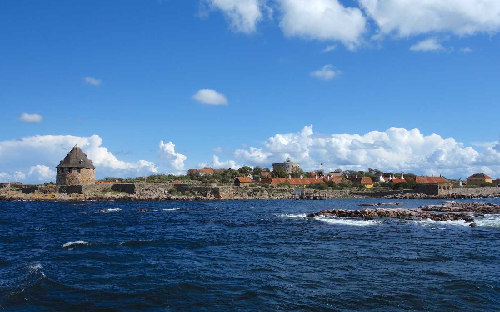 View of Christianso from the ferry