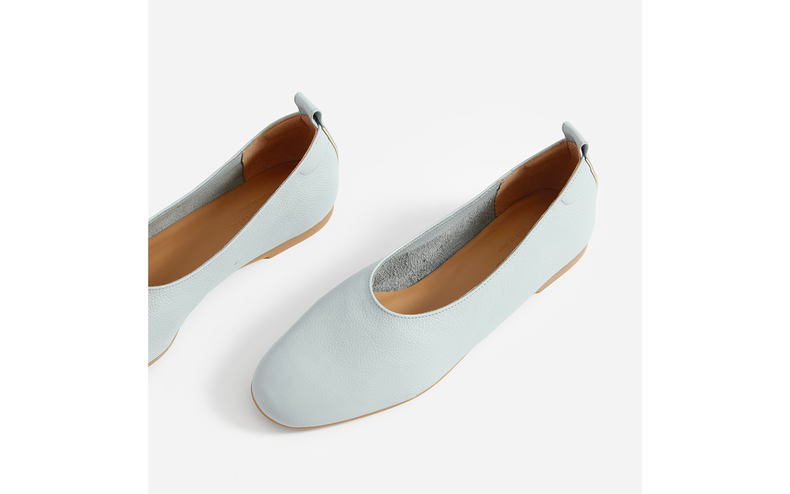 Everlane Day Glove Leather Flat Shoes
