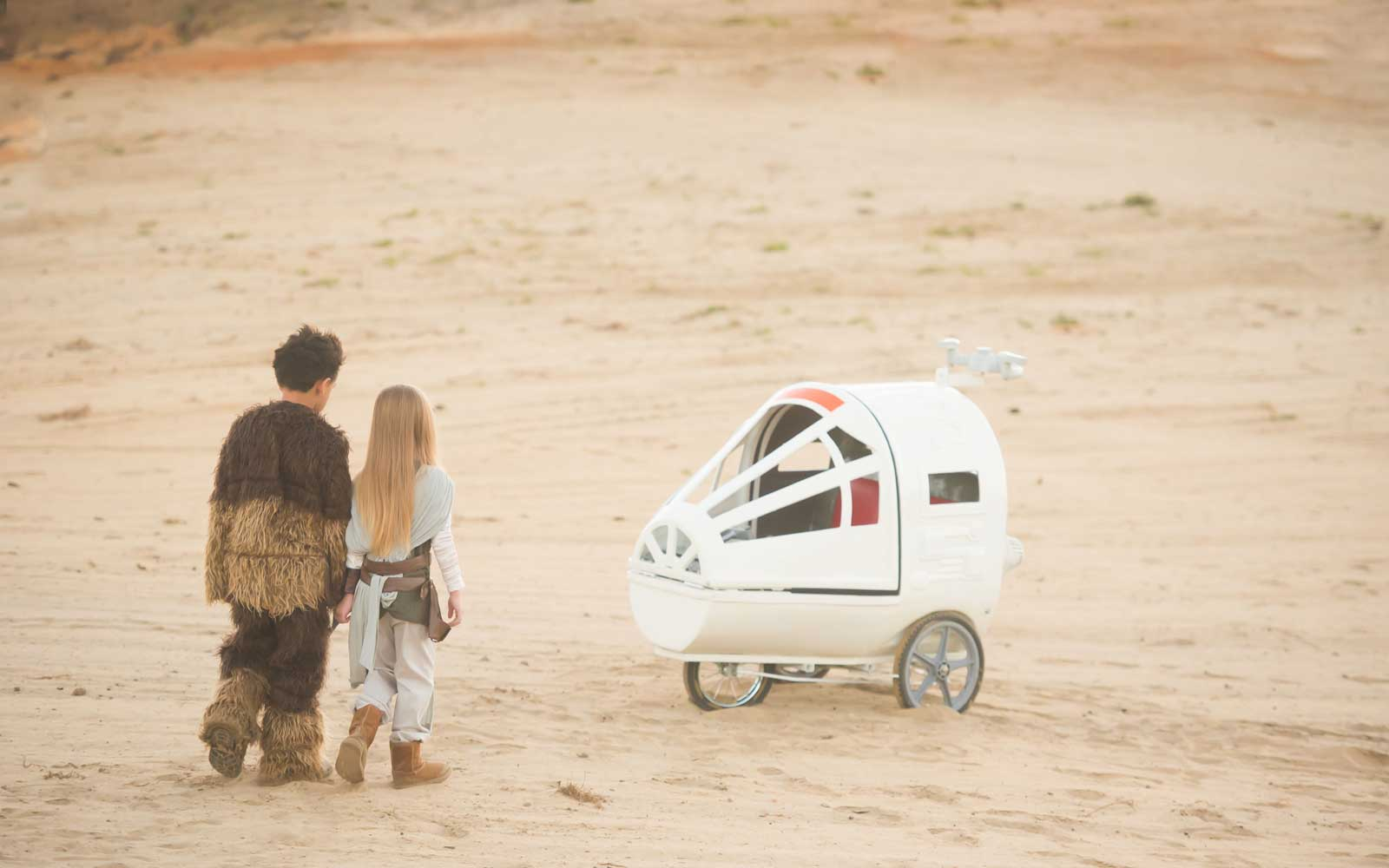 You Can Now Rent a Spaceship Stroller for Your Next Walt Disney World Trip