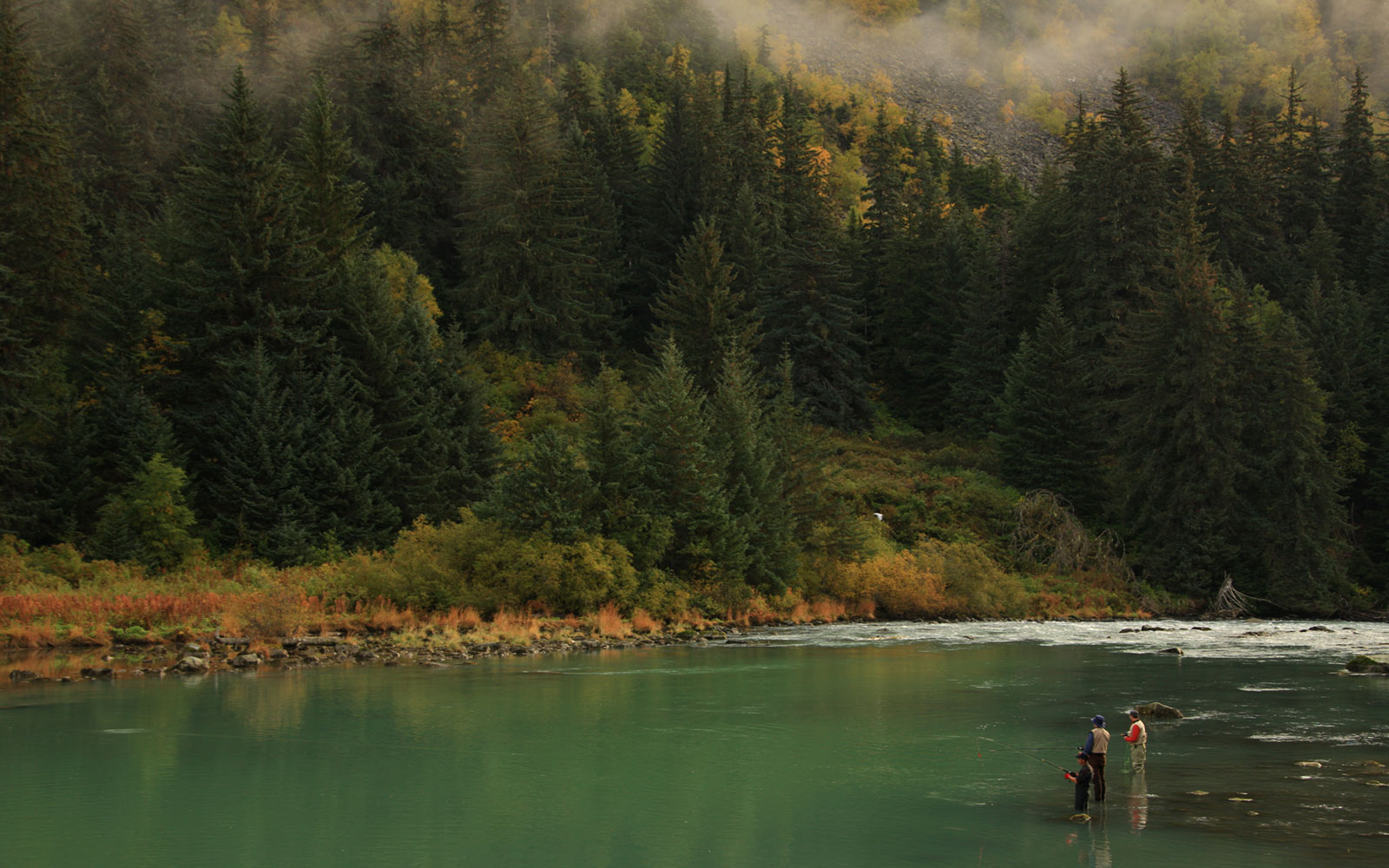 Fishing in Haines, Southern Yukon