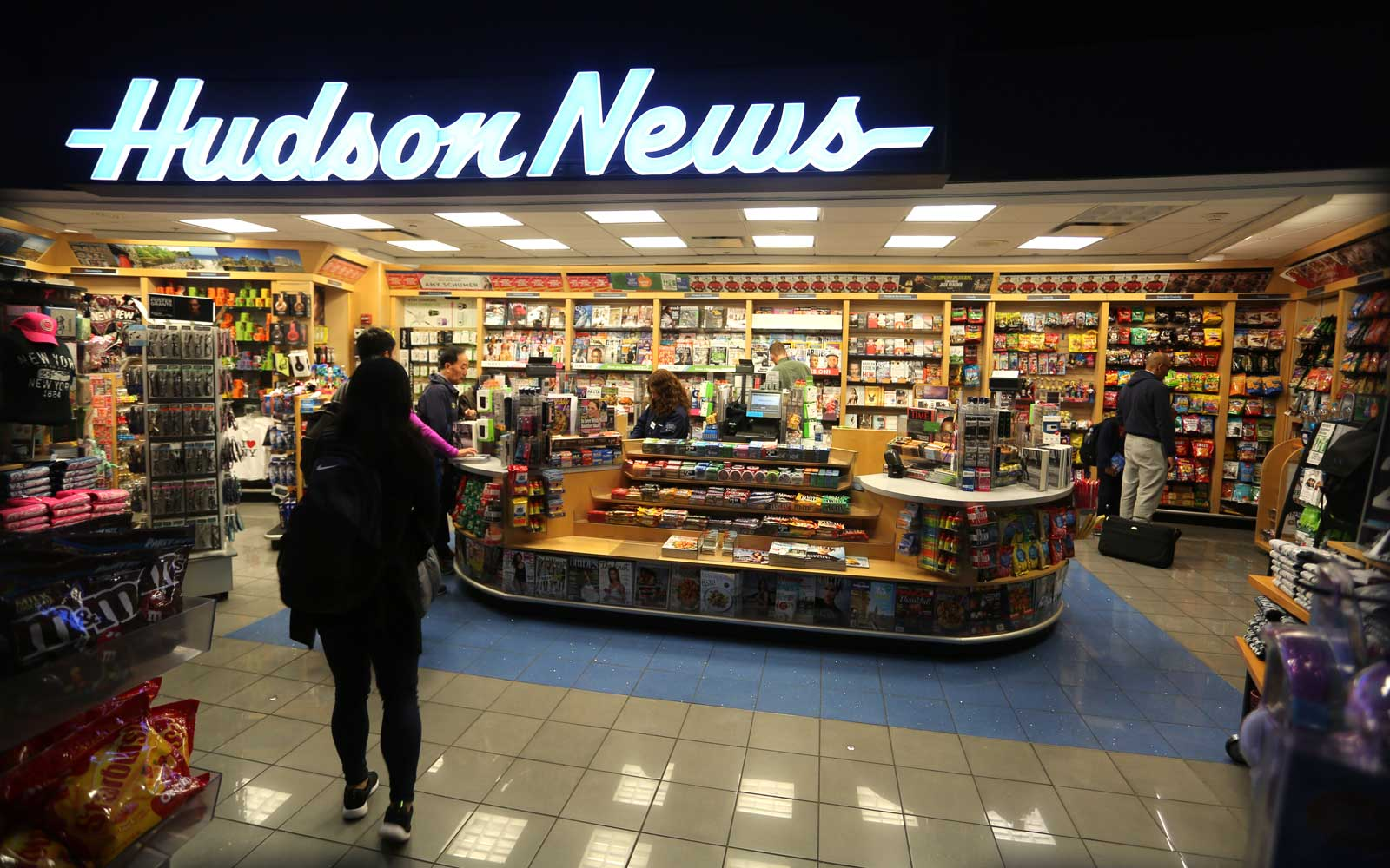 Hudson News store at an airport