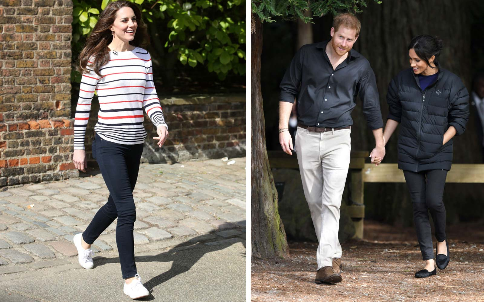 Meghan Markle and Kate Middleton Go Everywhere in These Comfy Shoes