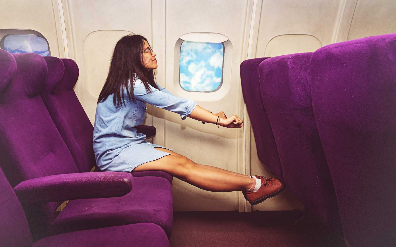 Meditating on Planes Is Good for Everyone, Not Just Anxious Travelers