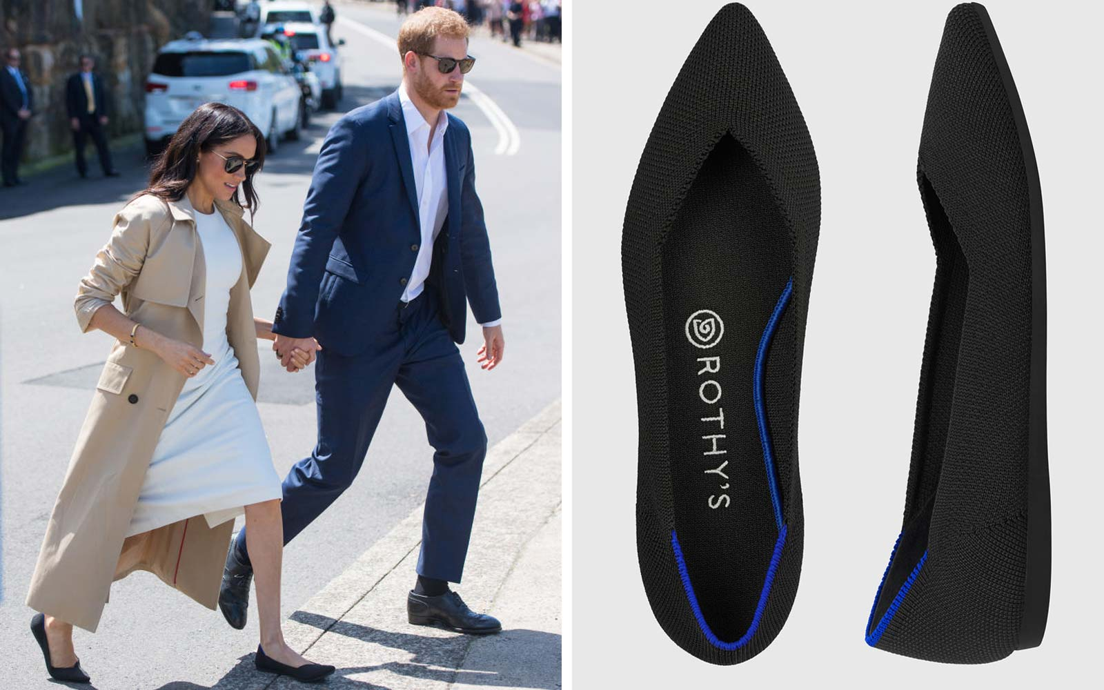 I Have Meghan Markle's Go-to Flats — and They Are the Most Comfortable Shoes I've Ever Owned