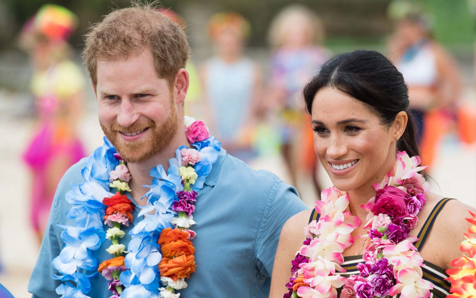 Prince Harry, Duke of Sussex and Meghan, Duchess of Sussex visit Bondi Beach