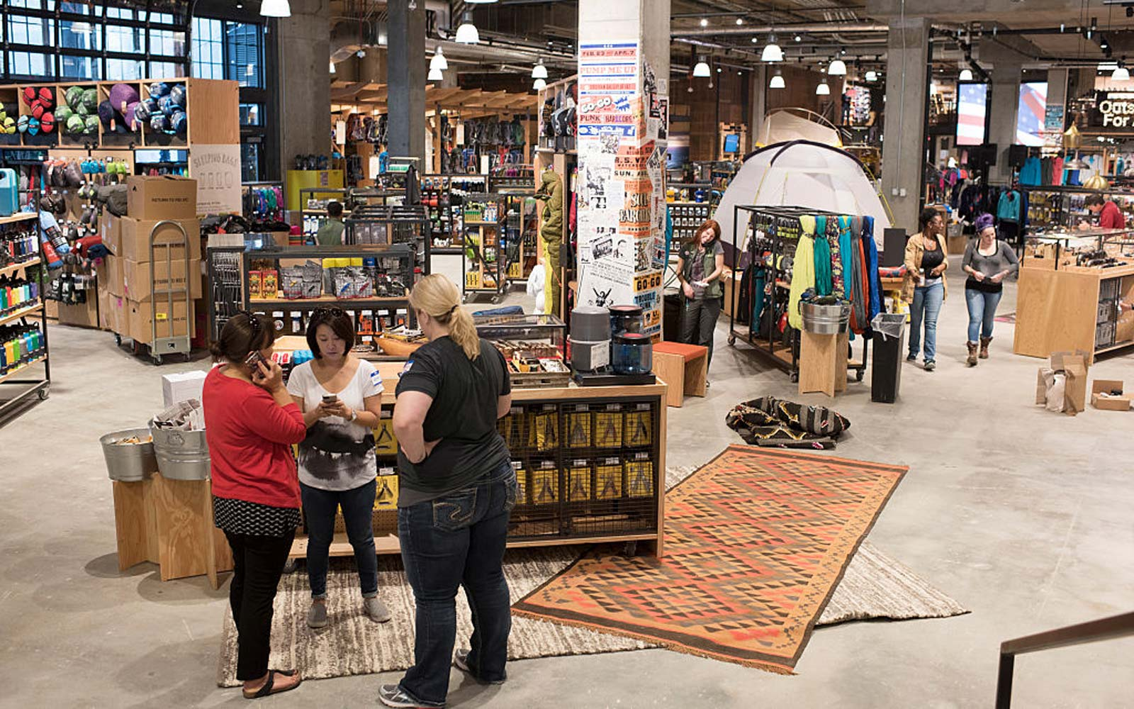 REI is opening it's first store in the District of Columbia