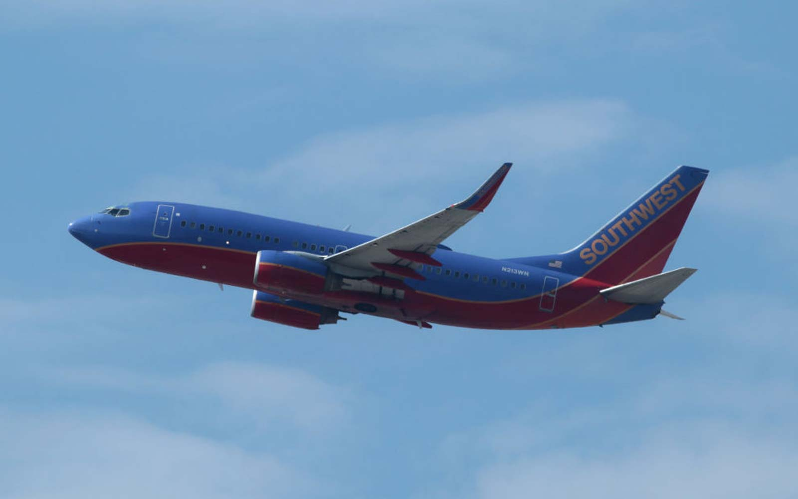 Airplanes Take Off From Newark Liberty Airport