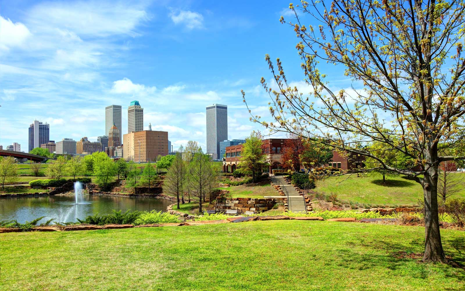 Get paid $10,000 to move to Tulsa, Oklahoma.