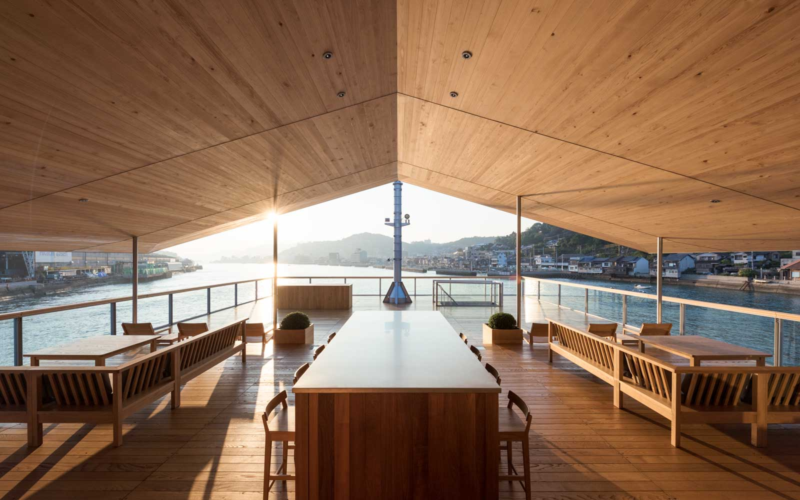 Inside the new Guntû, Japan's Floating Luxury Ryokan